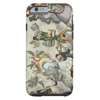 Puff, Puff, It is an Age of Puffing, Puff, Puff, P Tough iPhone 6 Case