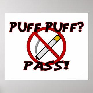 Puff Puff Pass Poster