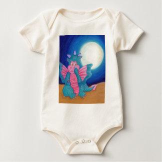 Puff The Magic Dragon Baby Bodysuit