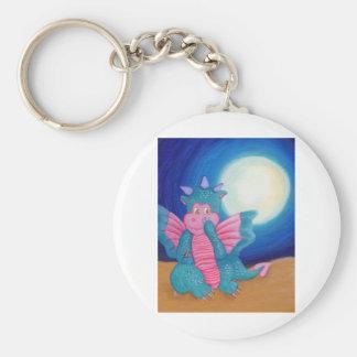 Puff The Magic Dragon Keychain