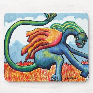 """Puff the Magic Dragon"" Mouse Pad"