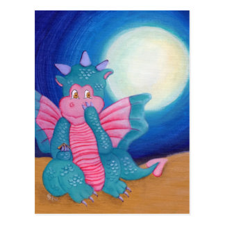 Puff The Magic Dragon Postcard
