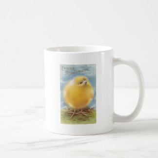 Puffball Chick Vintage Easter Coffee Mug