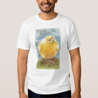 Puffball Chick Vintage Easter T-shirt