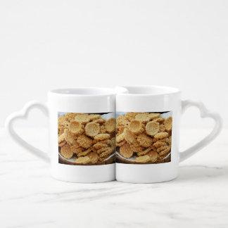 Puffed Rice Cakes ~ Asian Sweets Desserts Food Coffee Mug Set