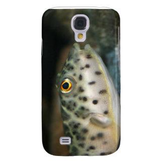 puffer fish facing right yellow eye.jpg samsung s4 case