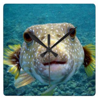***PUFFER FISH*** FUN CLOCK