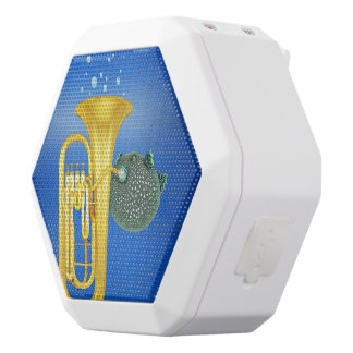 Puffer Fish Playing Tuba - Bluetooth speakers