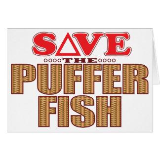 Puffer Fish Save Card