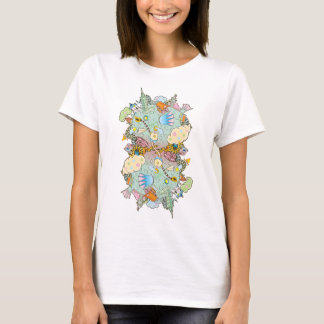 Puffer Puffing On A Water Pipe (Women) T-Shirt