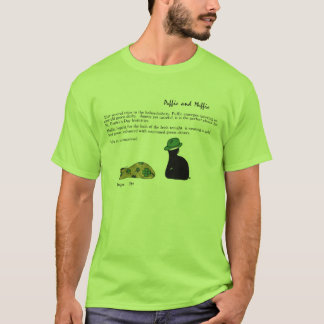 Puffie and Muffie St. Patrick's Day Cats Shirt