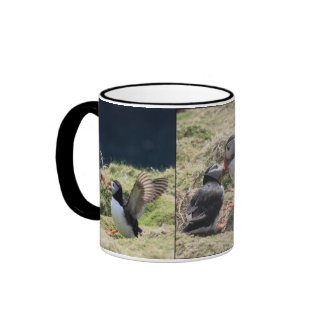 Puffin Argument Mug mug