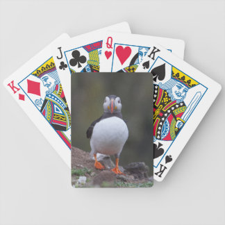 Puffin Bicycle Playing Cards