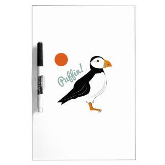Puffin! Bird Dry-Erase Whiteboard