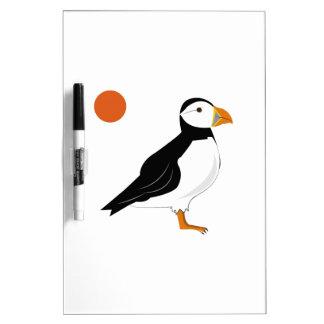 Puffin Bird Dry-Erase Board