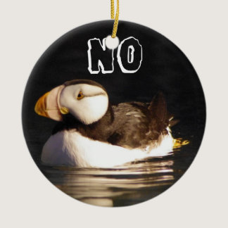 Puffin Ceramic Ornament