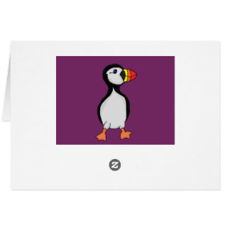 Puffin design cards and paper products