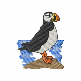 Puffin Embroidered Hoodie