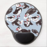 "Puffin Gel Mousepad<br><div class=""desc"">A cute stylized puffin designed by ZeroJigoku Artwork. This artwork takes advantage of using rough brush strokes to create a unique design.</div>"