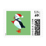 Puffin Holiday Postage Stamp