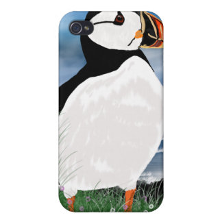 Puffin i - Northumberland Puffin iPhone 4/4S Cases