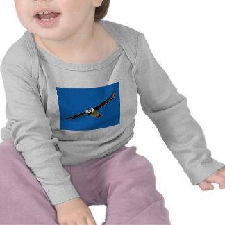 Puffin in flight tshirt