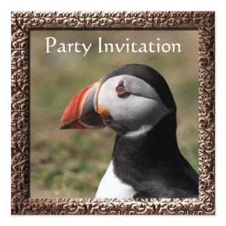 Puffin Invitation