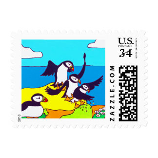 Puffin landings postage
