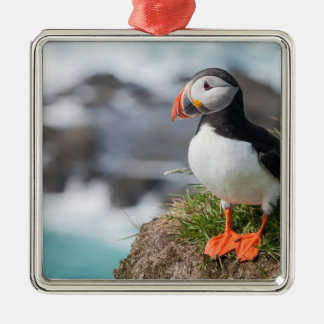 Puffin Metal Ornament