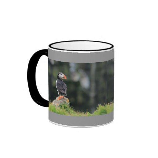 Puffin on a Rock Coffee Mug