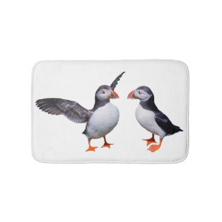Puffin Pals Bath Mat (Choose Your Colour)