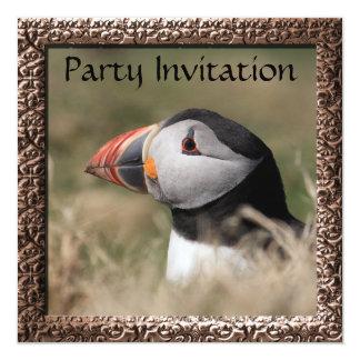 Puffin Party Invitation