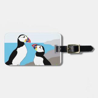 Puffin Sea Birds Luggage Tags