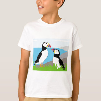 Puffin Sea Birds T-Shirt