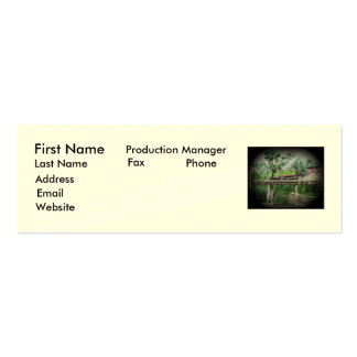 Puffing Billy Double-Sided Mini Business Cards (Pack Of 20)
