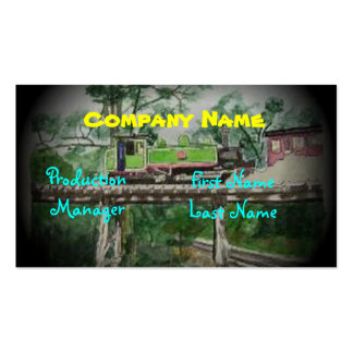 Puffing Billy Double-Sided Standard Business Cards (Pack Of 100)