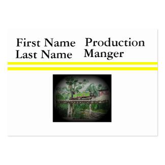 Puffing Billy Large Business Cards (Pack Of 100)