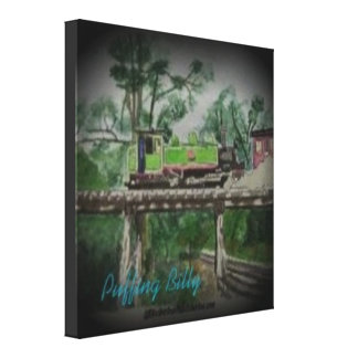 Puffing Billy Gallery Wrap Canvas