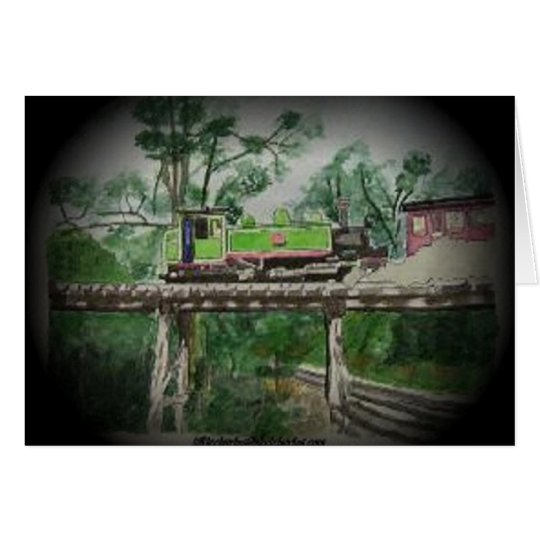 Puffing Billy Card