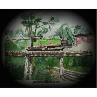 Puffing Billy Photo Statuette