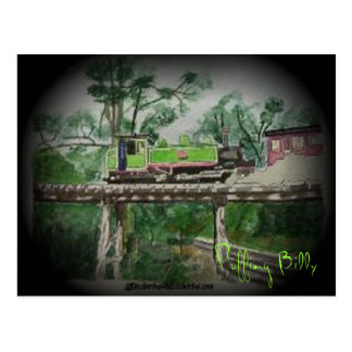Puffing Billy Postcard