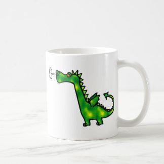 Puffing Little Dragon Coffee Mug