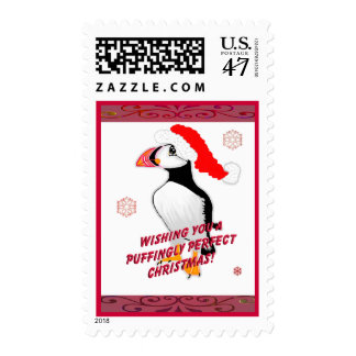 Puffingly Perfect Christmas! Postage