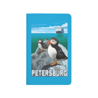 Puffins & Cruise Ship - Petersburg, Alaska Journal
