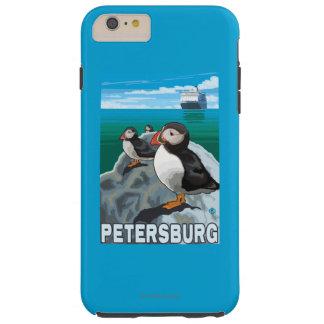 Puffins & Cruise Ship - Petersburg, Alaska Tough iPhone 6 Plus Case