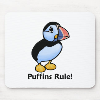 Puffins Rule! Mouse Pad
