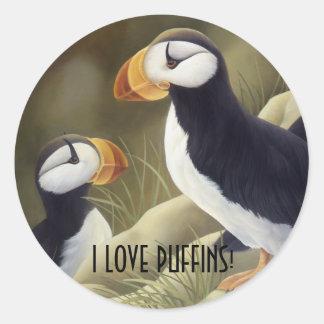 Puffins Sticker
