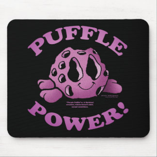 PUFFLE POWER! MOUSE PAD