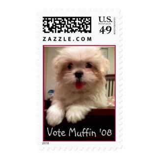 puffmuffin, Vote Muffin '08 Postage