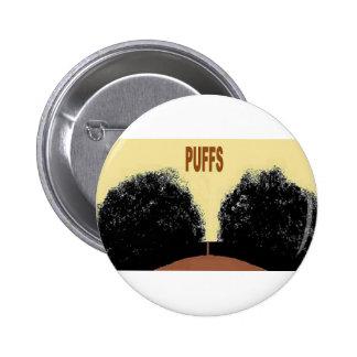 PUFFS 2 INCH ROUND BUTTON